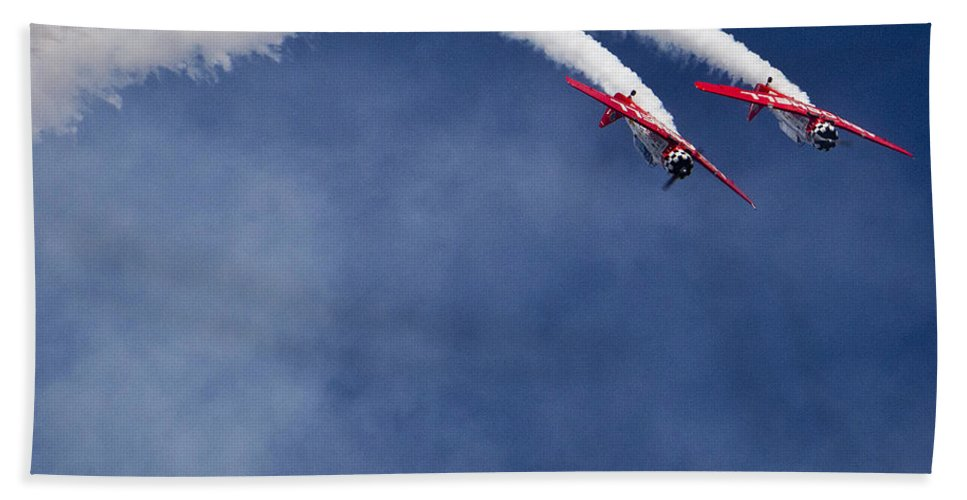T-6 Beach Towel featuring the photograph In Close by Roger Wedegis
