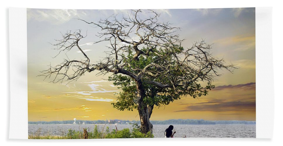 2d Beach Towel featuring the photograph Introspective by Brian Wallace