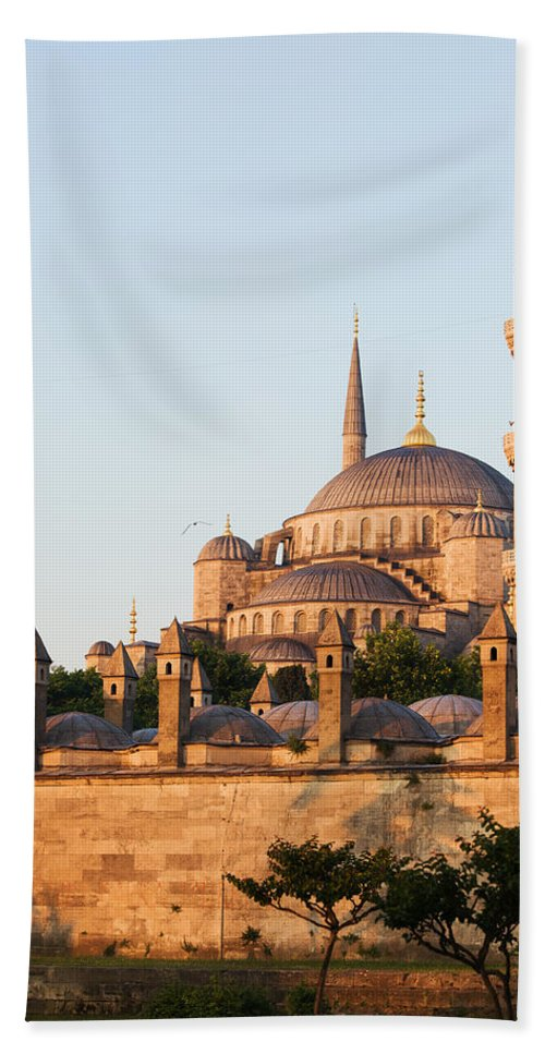 Blue Beach Towel featuring the photograph Istanbul by Artur Bogacki