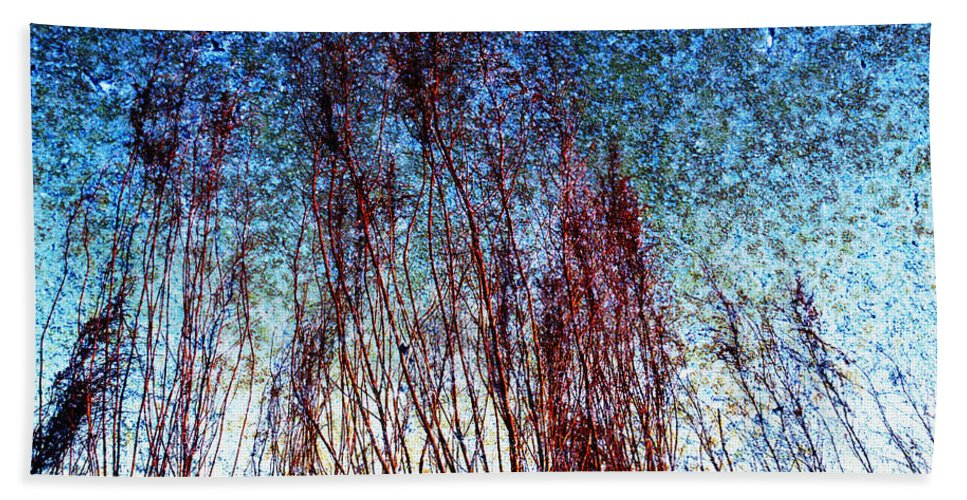 Abstract Beach Towel featuring the photograph Weeds In Florida by Skip Nall