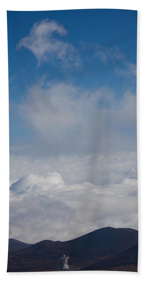 Radio Beach Towel featuring the photograph Listen To The Universe by Ralf Kaiser