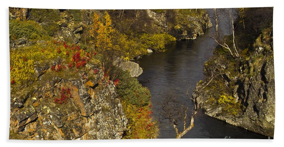 Heiko Beach Towel featuring the photograph Little Gorge by Heiko Koehrer-Wagner