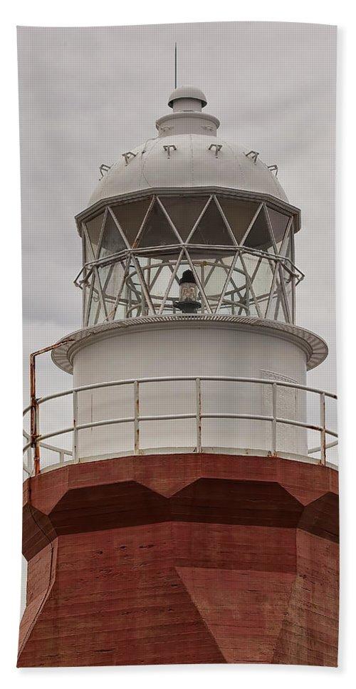 Lighthouse Newfoundland long Point Maritime Atlantic Canada crow Head Twillingate twillingate Island Beach Towel featuring the photograph Long Point Lighthouse by Eunice Gibb
