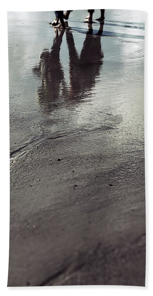 People Beach Towel featuring the photograph Low Tide by Joana Kruse
