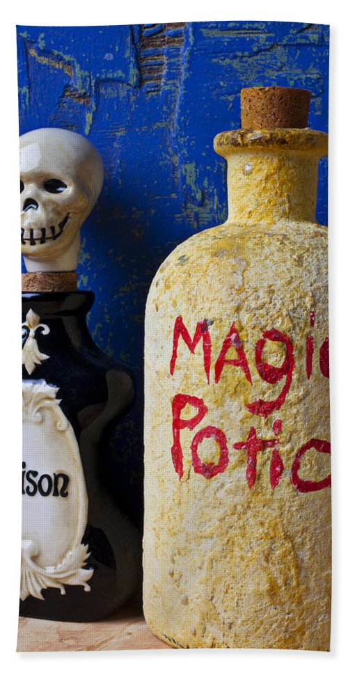 Magic Beach Towel featuring the photograph Magic Potion by Garry Gay