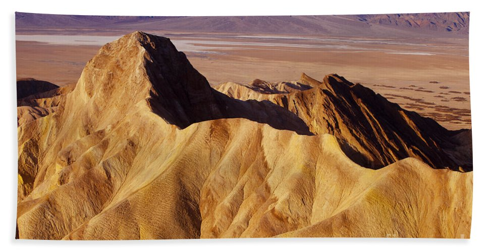America Beach Towel featuring the photograph Manley Beacon Death Valley by Brian Jannsen