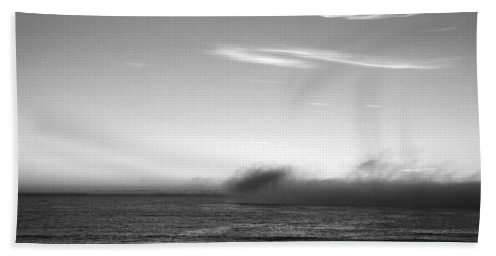 Marina Dunes Beach Beach Towel featuring the photograph Marina - Last Minutes Light by Kathleen Grace