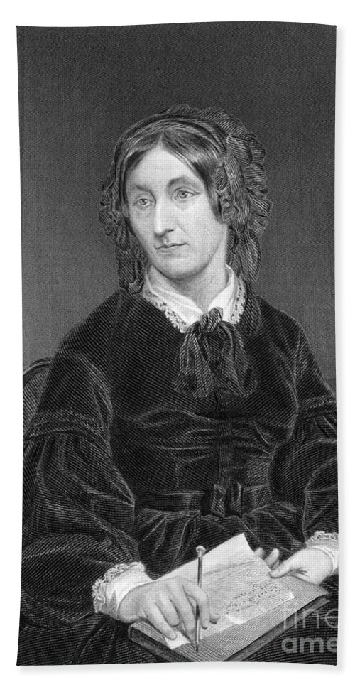 Science Beach Towel featuring the photograph Mary Somerville, Scottish Polymath by Science Source