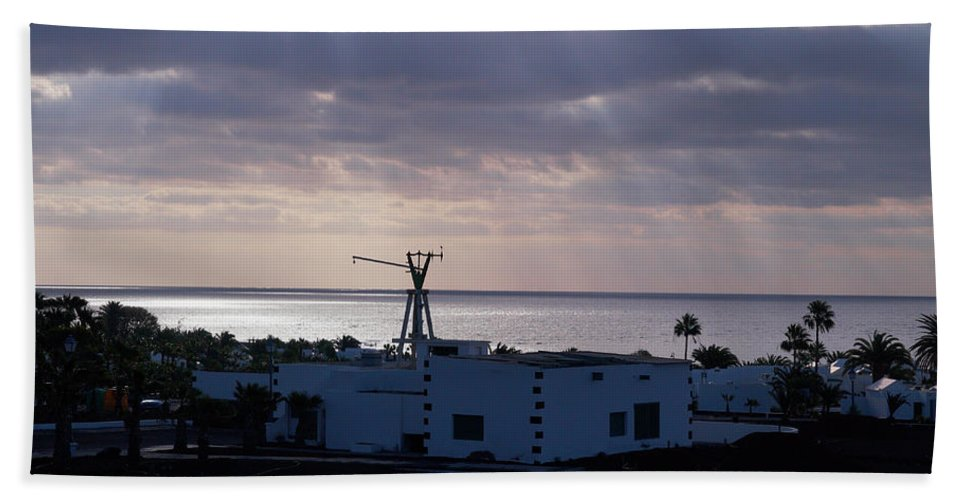 Canary Islands Beach Towel featuring the photograph Matagorda by Jouko Lehto