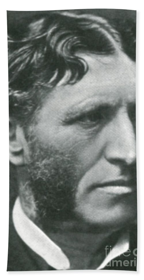 Matthew Arnold Beach Towel featuring the photograph Matthew Arnold by Science Source