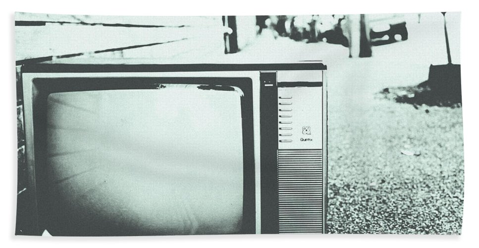 Black Beach Towel featuring the photograph Memory Loss by Andrew Paranavitana