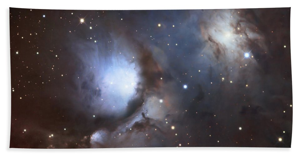 Astronomy Beach Towel featuring the photograph Messier 78, Also Known As Ngc 2068 by Robert Gendler
