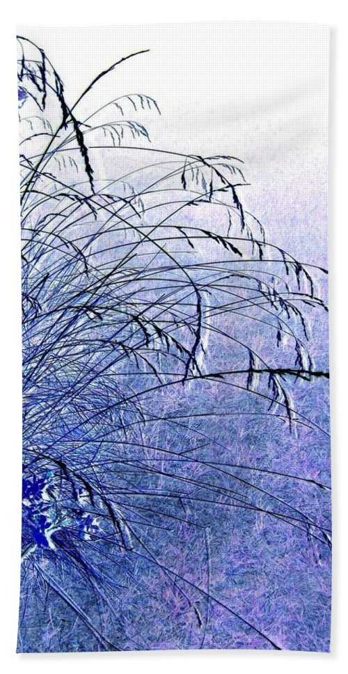 Misty Blue Beach Towel featuring the photograph Misty Blue by Will Borden