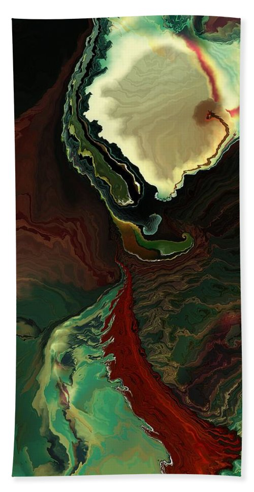 Apocalypse Beach Towel featuring the digital art My What A Lovely Apocalypse by Richard Kelly