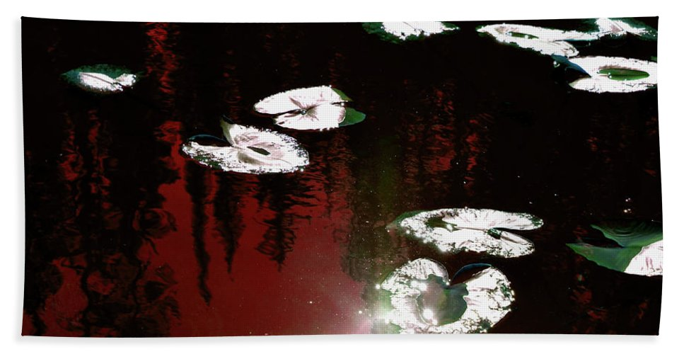 Nature Beach Towel featuring the photograph Nature's Pad by La Dolce Vita