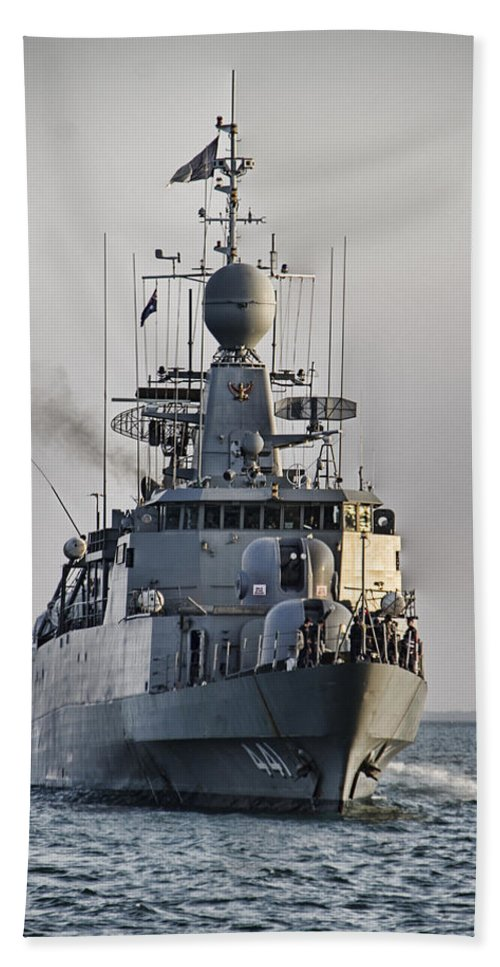 Naval Joint Operations Beach Towel featuring the photograph Naval Joint Ops V5 by Douglas Barnard