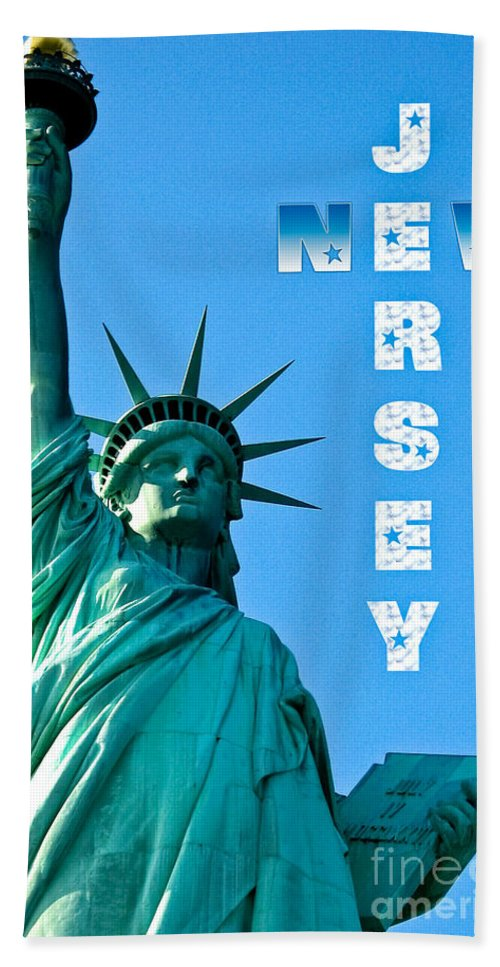 New Jersey Beach Towel featuring the photograph New Jersey by Syed Aqueel