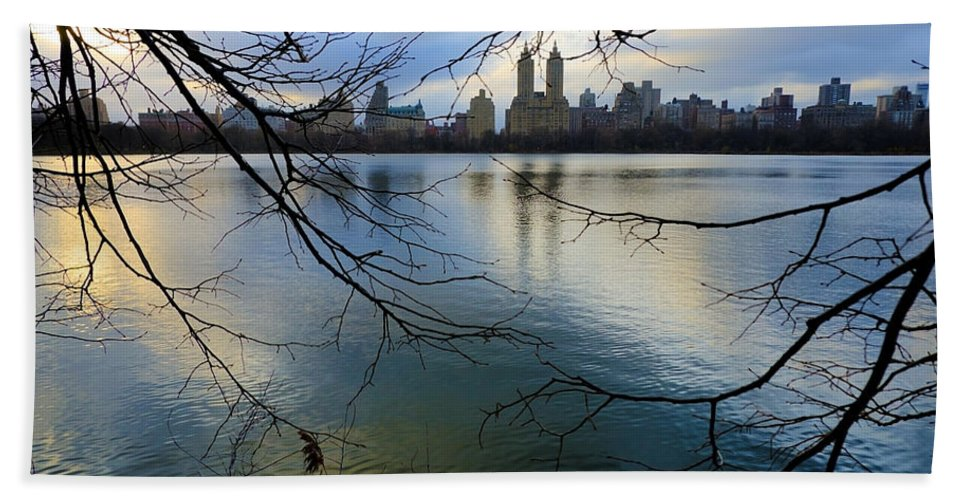Active Beach Towel featuring the photograph Nyc012 by Svetlana Sewell
