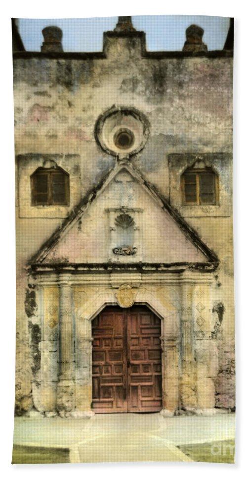 Old Church Beach Towel featuring the photograph Old Church by Jill Battaglia