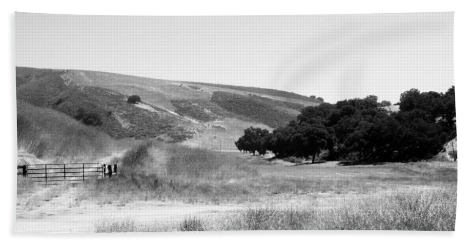 Los Alamos Beach Towel featuring the photograph Open Country by Kathleen Grace
