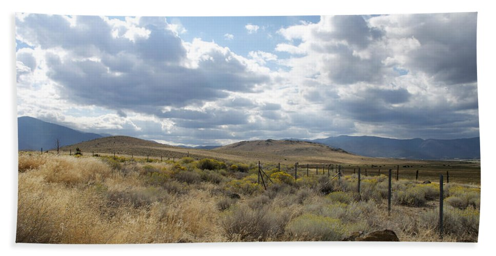 California Beach Towel featuring the photograph Open Land by Kathleen Grace