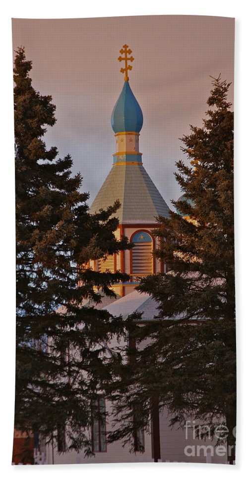 Church Beach Towel featuring the photograph Orthodox by Rick Monyahan