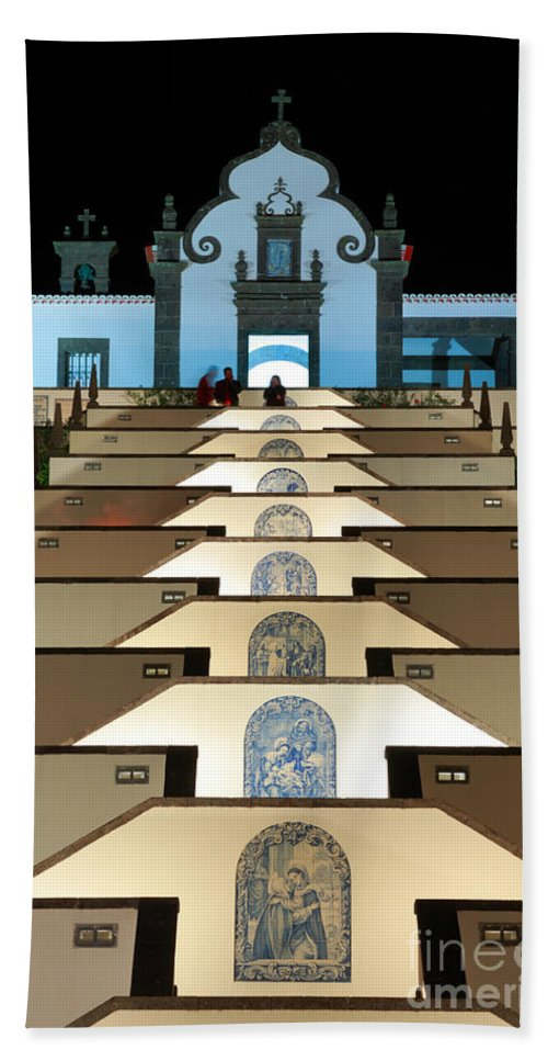 Architecture Beach Towel featuring the photograph Our Lady Of Peace Chapel by Gaspar Avila