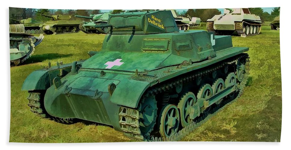 German Beach Towel featuring the photograph Panzer I Ausf. B by Tommy Anderson