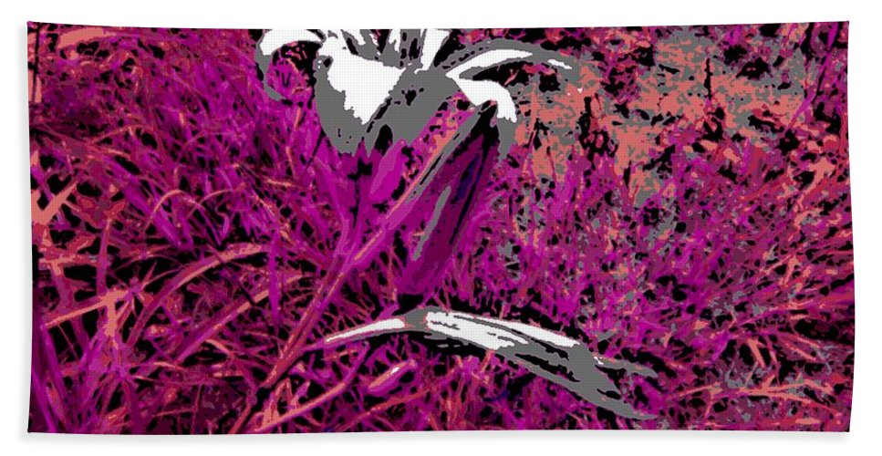 Flower Beach Towel featuring the photograph Paradise by George Pedro