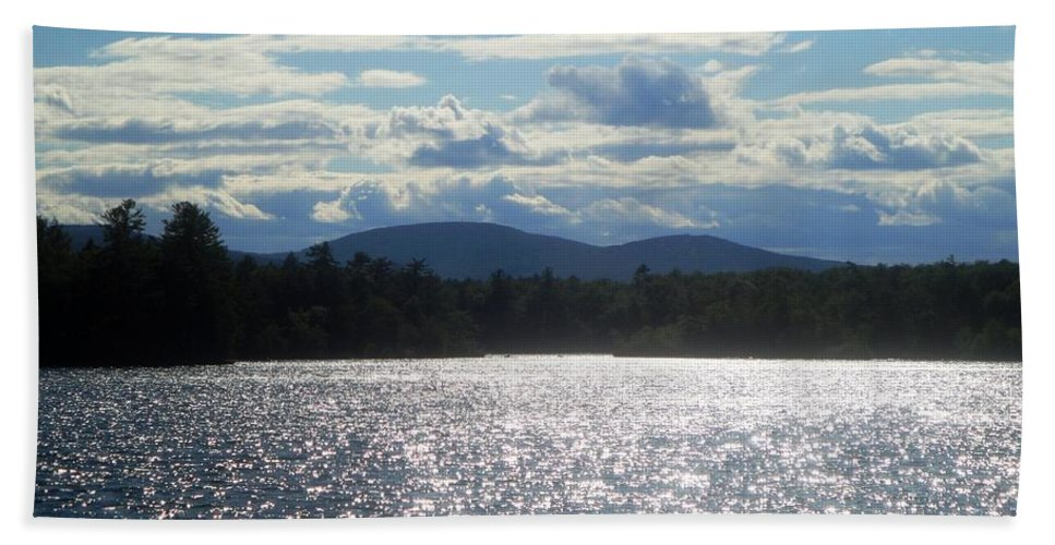 Lake Beach Towel featuring the photograph Perfect Day On The Lake by Kevin Fortier