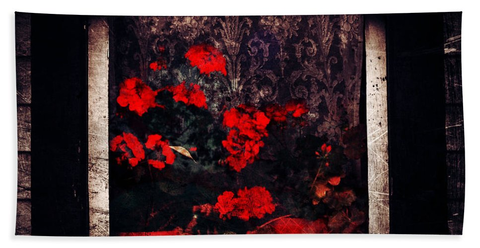 Jerry Cordeiro Beach Towel featuring the photograph Petals Of Sorry by The Artist Project
