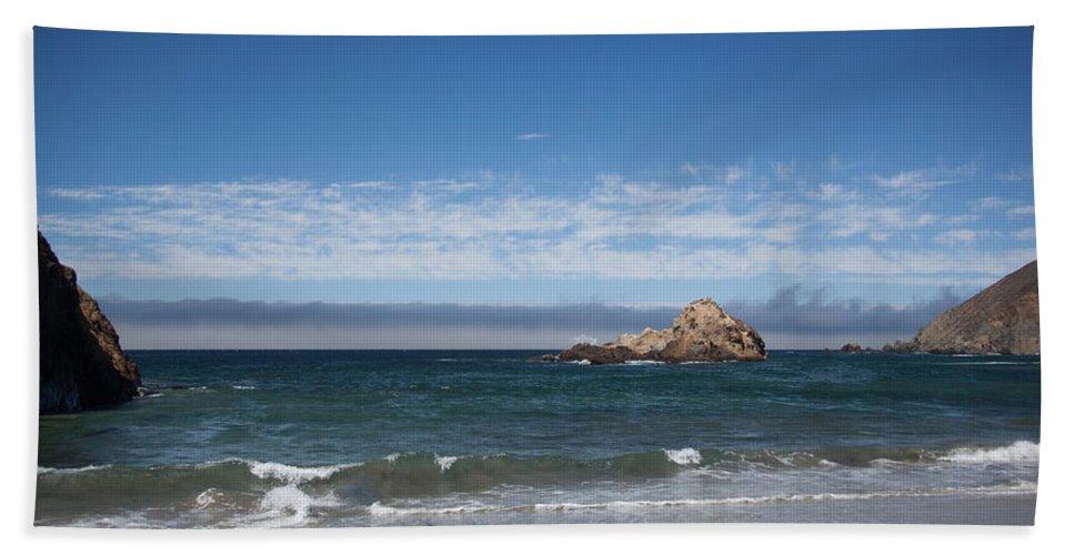 Pfeiffer Beach Towel featuring the photograph Pfeiffer Beach by Ralf Kaiser
