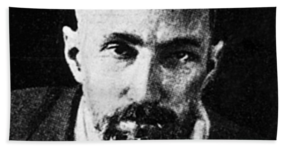 Science Beach Towel featuring the photograph Pierre Curie, French Physicist by Science Source