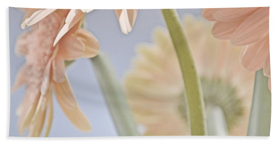 Pink Beach Towel featuring the photograph Pink Bouquet by Traci Cottingham