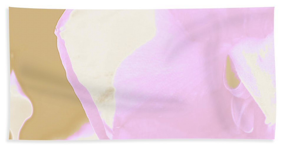 Augusta Stylianou Beach Towel featuring the photograph Pink Rose Petal by Augusta Stylianou