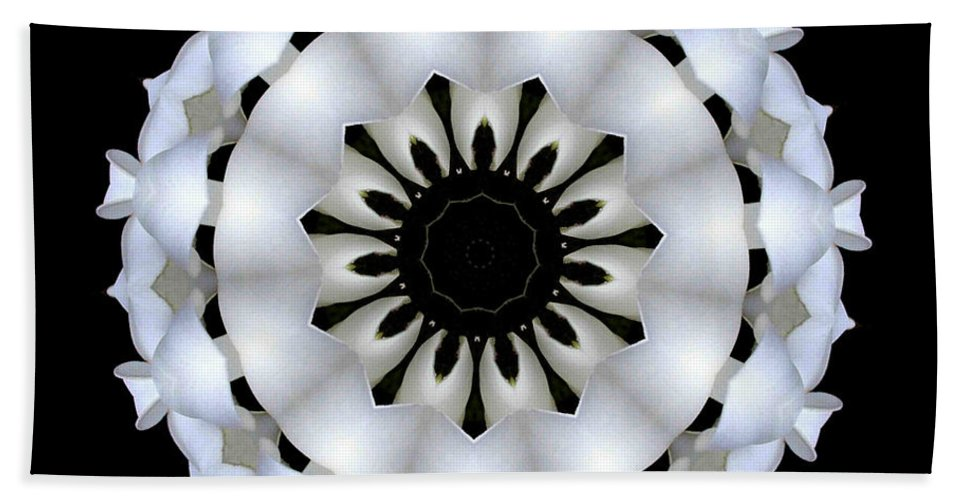 Digital Design Beach Towel featuring the photograph Plumeria 4 by Mark Gilman