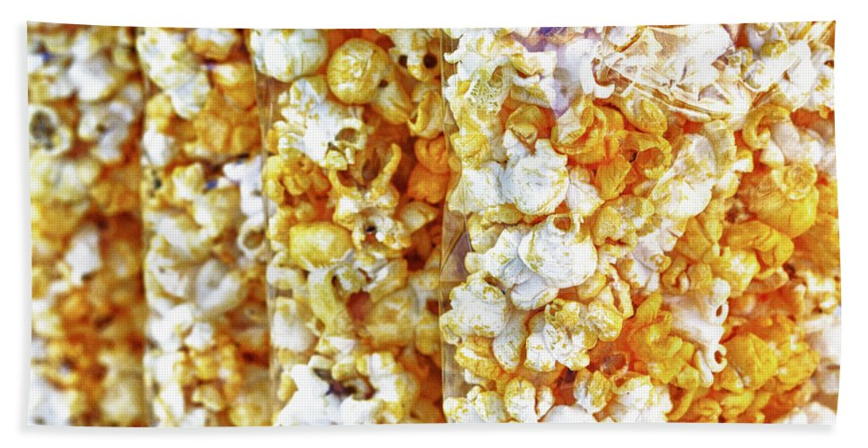 Abstract Beach Towel featuring the photograph Pop Corn by Skip Nall