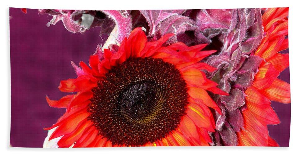 Purple Beach Towel featuring the photograph Purple Passion by Ian MacDonald