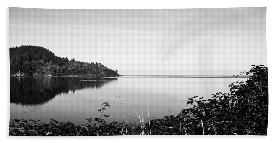Lake Beach Towel featuring the photograph Reflected Perfectly Calm by Kathleen Grace