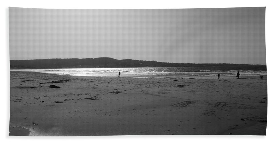 Marina Dunes Beach Beach Towel featuring the photograph Reflecting Late Light by Kathleen Grace