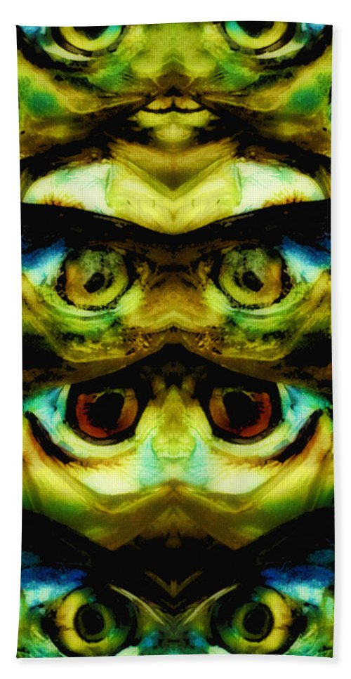 Abstract Beach Towel featuring the photograph Reflections 1 by Skip Nall