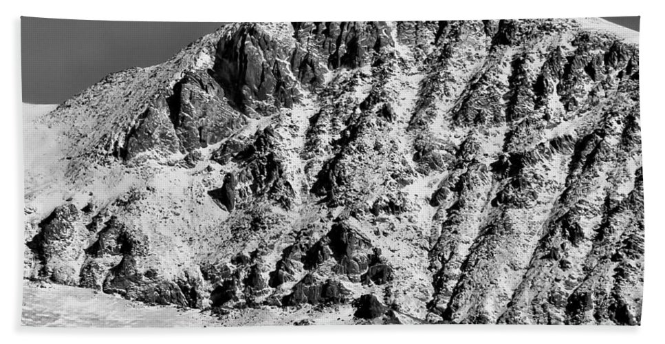 Mountains Beach Towel featuring the photograph Rocky Mountain Ridges by Colleen Coccia