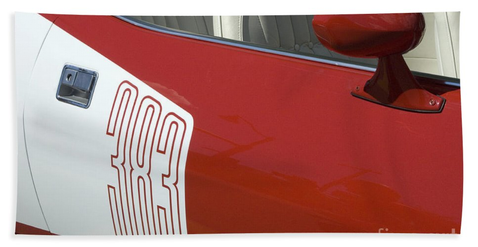 Chrysler Beach Towel featuring the photograph Route 66 Classic Cars 5 by Bob Christopher