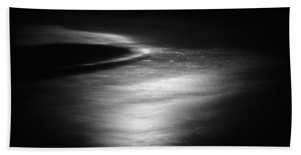 Absence Beach Towel featuring the photograph Rushing Water 2 by Skip Nall