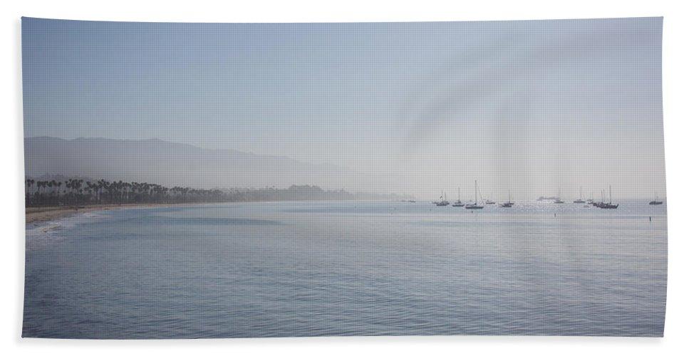 Santa Barbara Beach Towel featuring the photograph Santa Barbara by Ralf Kaiser