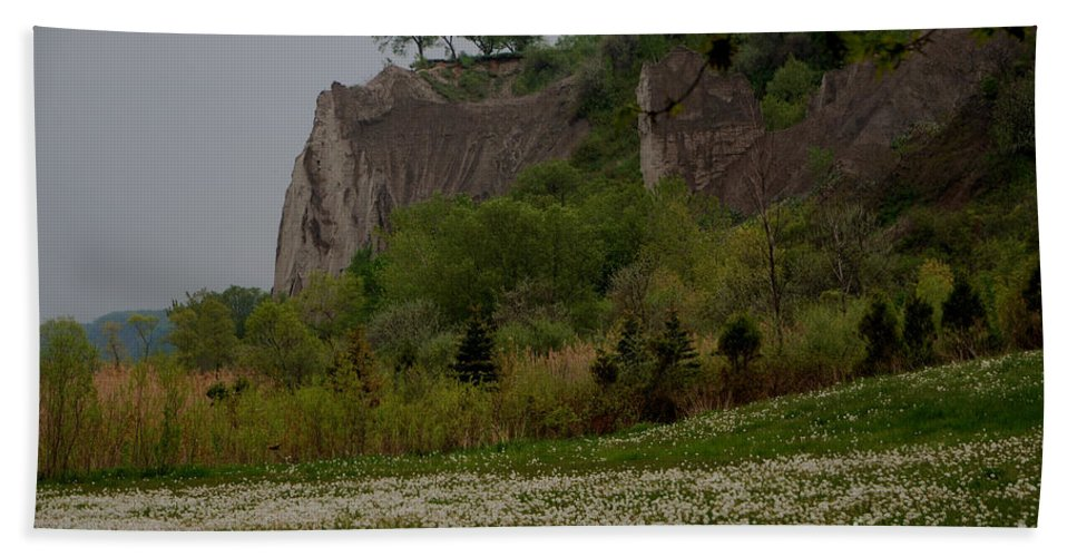 Scarborough Bluffs Beach Towel featuring the photograph Scarborough Bluffs 2 by Grace Grogan