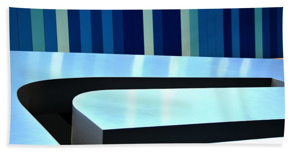 Blue Beach Towel featuring the photograph Shades Of Blue by Floyd Menezes