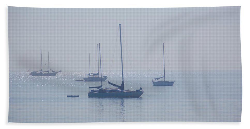 Rich Beach Towel featuring the photograph Ships by Ralf Kaiser