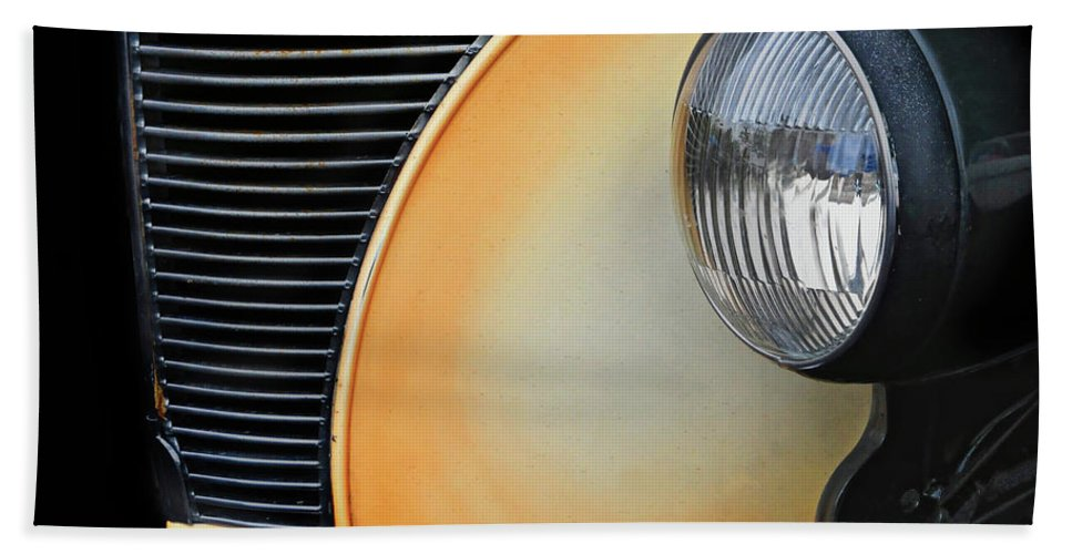 Show Car Beach Towel featuring the photograph Show Car by Dave Mills