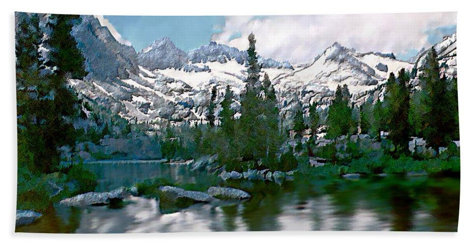Mountain Beach Towel featuring the photograph Sierra by Kurt Van Wagner